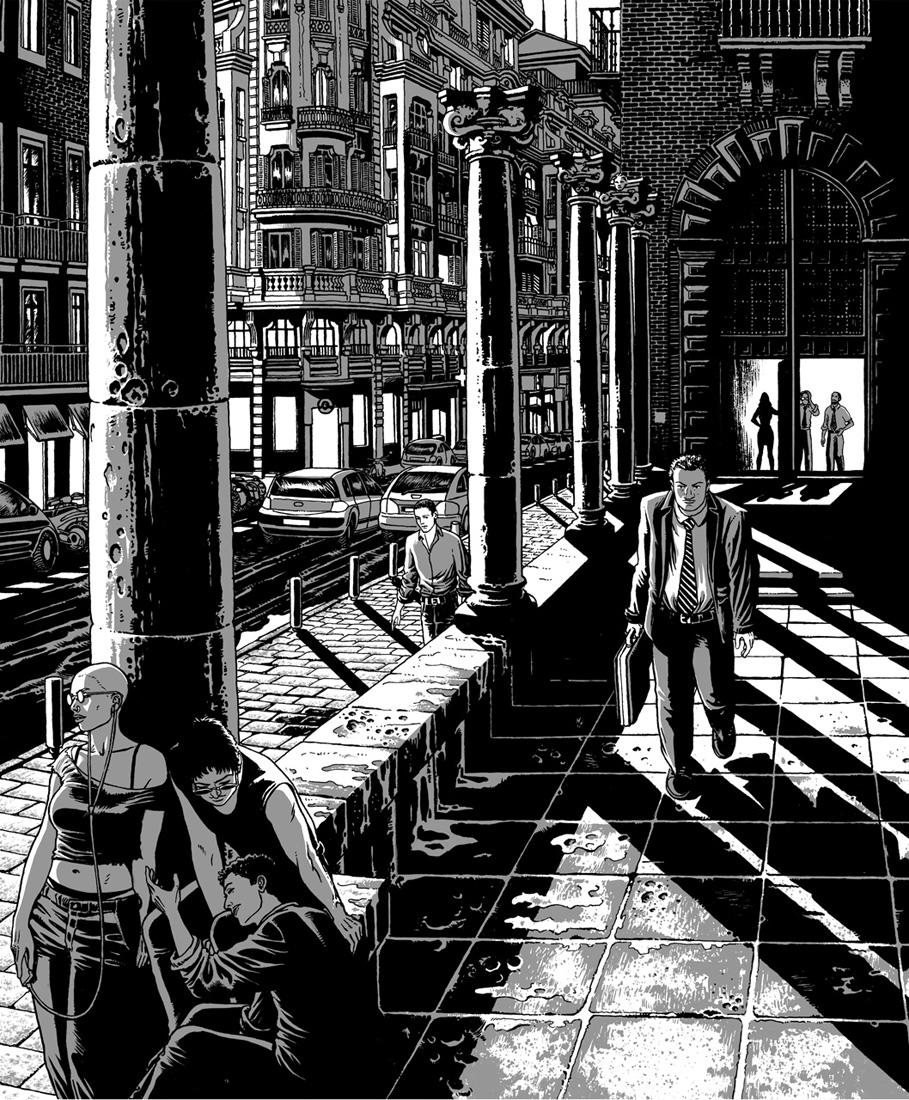 "alt=""ilustracion miguel navia chueca calle colmenares"""