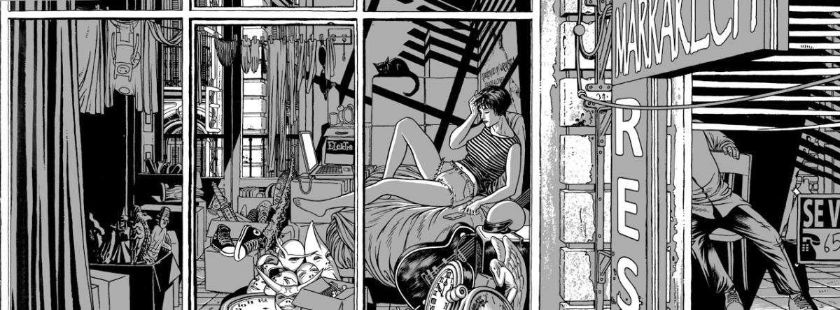 """alt=""""ilustracion miguel navia para elektra comics"""""""