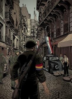 "alt=""ilustracion miguel navia literatura segunda guerra mundial"""
