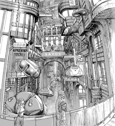 """alt=""""ilustracion miguel navia libro odio el rosa oxford"""""""