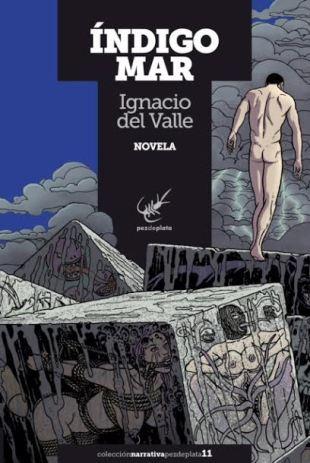 Portada ÍNDIGO MAR de Ignacio del Valle
