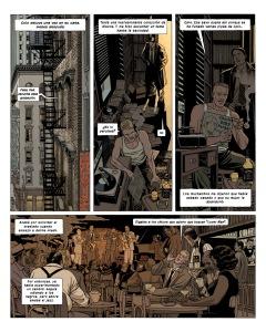 Comic policiaco ambientado en el NY de los años 50 con la noche, el jazz y la represión como telón de fondo